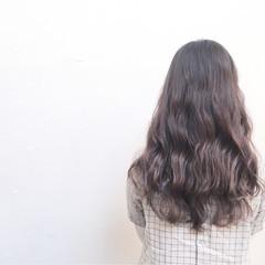 暗髪 外国人風 アッシュ ブラウン ヘアスタイルや髪型の写真・画像