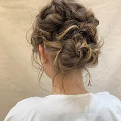 ヘアアレンジ フェミニン アウトドア 結婚式 ヘアスタイルや髪型の写真・画像