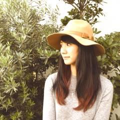 黒髪 レッド アッシュ 秋 ヘアスタイルや髪型の写真・画像