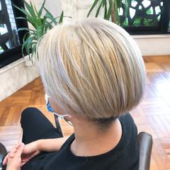 ストリート メンズ デザインカラー ショートヘア ヘアスタイルや髪型の写真・画像