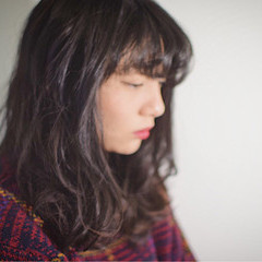 ゆるふわ バレンタイン ミディアム ガーリー ヘアスタイルや髪型の写真・画像