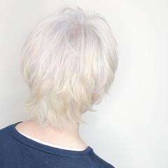 ホワイトブリーチ ストリート メンズショート メンズヘア ヘアスタイルや髪型の写真・画像
