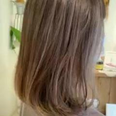 フェミニン 前髪あり 秋冬スタイル インナーカラー ヘアスタイルや髪型の写真・画像