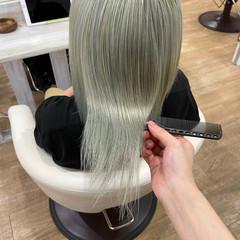 髪質改善 うる艶カラー 髪質改善カラー 艶髪 ヘアスタイルや髪型の写真・画像