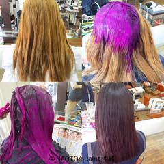 アッシュ ガーリー 艶髪 セミロング ヘアスタイルや髪型の写真・画像