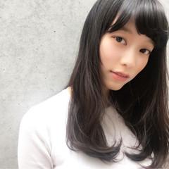 かわいい 色気 リラックス ミディアム ヘアスタイルや髪型の写真・画像