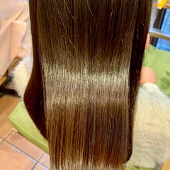 ストレート 髪質改善 ナチュラル 髪質改善トリートメント ヘアスタイルや髪型の写真・画像