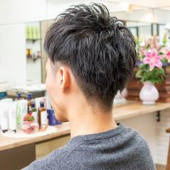 メンズカット 束感 ストリート ショート ヘアスタイルや髪型の写真・画像