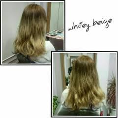 グラデーションカラー ストリート パンク ロング ヘアスタイルや髪型の写真・画像