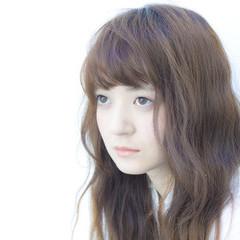 大人かわいい 外国人風 黒髪 ロング ヘアスタイルや髪型の写真・画像