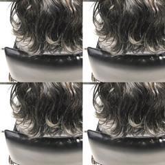 グレー グレージュ ストリート 透明感 ヘアスタイルや髪型の写真・画像
