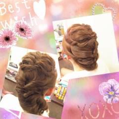 三つ編み アップスタイル ストリート ヘアアレンジ ヘアスタイルや髪型の写真・画像