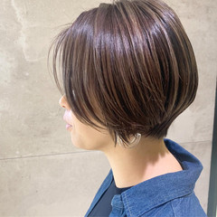 ウルフカット ショートボブ ショート ショートヘア ヘアスタイルや髪型の写真・画像
