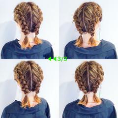 ヘアアレンジ デート ストリート ボブ ヘアスタイルや髪型の写真・画像