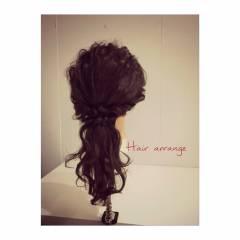 愛され コンサバ ゆるふわ モテ髪 ヘアスタイルや髪型の写真・画像