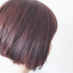 大人かわいい ラベンダーピンク ナチュラル グレージュ ヘアスタイルや髪型の写真・画像