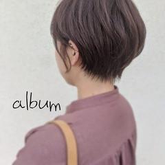 ショートボブ ショートヘア ガーリー ベリーショート ヘアスタイルや髪型の写真・画像