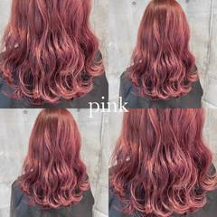 ラベンダーピンク ピンクラベンダー ピンクベージュ ストリート ヘアスタイルや髪型の写真・画像