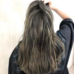 イルミナカラー ナチュラル ヘアアレンジ ロング ヘアスタイルや髪型の写真・画像