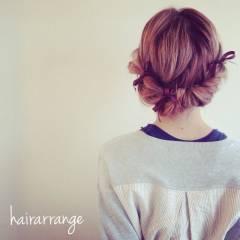 ゆるふわ ショート ヘアアレンジ 大人かわいい ヘアスタイルや髪型の写真・画像
