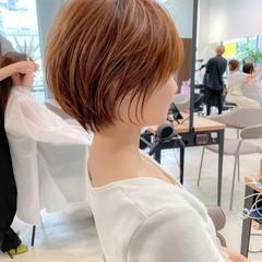 ナチュラル マッシュショート アンニュイほつれヘア ショート ヘアスタイルや髪型の写真・画像