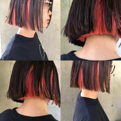 ボブ 簡単ヘアアレンジ モード スポーツ ヘアスタイルや髪型の写真・画像