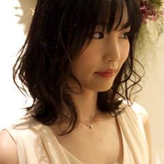 夏 大人かわいい 結婚式 パーティ ヘアスタイルや髪型の写真・画像
