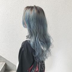 ロング 外国人風 外国人風カラー ハイトーン ヘアスタイルや髪型の写真・画像