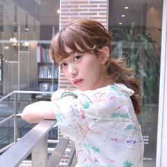 ショート レイヤーカット パーマ ミディアム ヘアスタイルや髪型の写真・画像