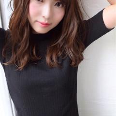 リラックス フェミニン 似合わせ 大人かわいい ヘアスタイルや髪型の写真・画像