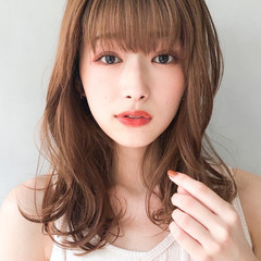 アンニュイほつれヘア セミロング 大人かわいい エレガント ヘアスタイルや髪型の写真・画像