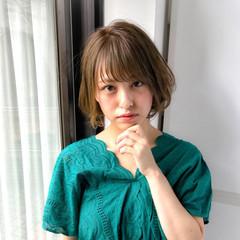 涼しげ 似合わせ 夏 小顔 ヘアスタイルや髪型の写真・画像