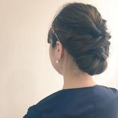 ヘアアレンジ ミディアム 大人かわいい フェミニン ヘアスタイルや髪型の写真・画像