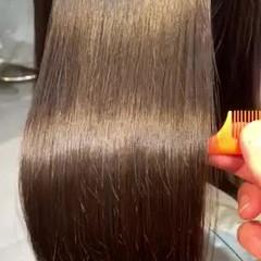 ロング 最新トリートメント 髪質改善 トリートメント ヘアスタイルや髪型の写真・画像