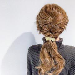 結婚式 ロング ヘアアレンジ 簡単ヘアアレンジ ヘアスタイルや髪型の写真・画像