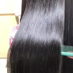 髪質改善 艶髪 ナチュラル ロング ヘアスタイルや髪型の写真・画像