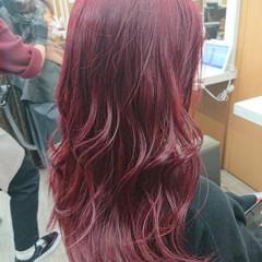 ブリーチカラー 銀座美容室 韓国風ヘアー ロング ヘアスタイルや髪型の写真・画像
