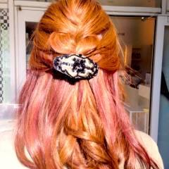 ショート ゆるふわ ルーズ ヘアアレンジ ヘアスタイルや髪型の写真・画像