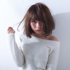 ゆるふわ 外国人風 大人かわいい ブラウン ヘアスタイルや髪型の写真・画像