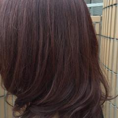 暗髪 レイヤーカット グレー ナチュラル ヘアスタイルや髪型の写真・画像