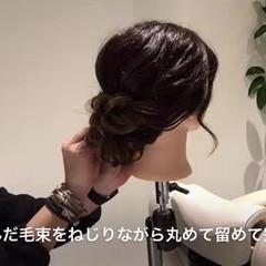 フェミニン デート ヘアアレンジ 大人かわいい ヘアスタイルや髪型の写真・画像
