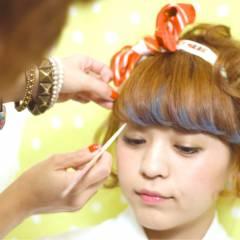 ヘアアレンジ ガーリー ヘアスタイルや髪型の写真・画像