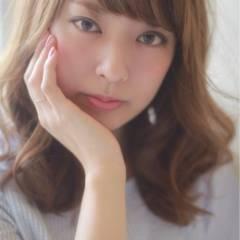 大人かわいい ゆるふわ コンサバ フェミニン ヘアスタイルや髪型の写真・画像