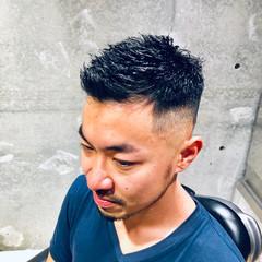 メンズスタイル ショート メンズヘア 刈り上げ ヘアスタイルや髪型の写真・画像