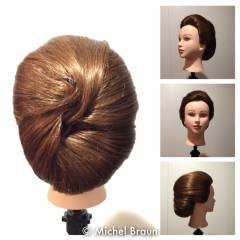 ベース型 ミディアム 卵型 逆三角形 ヘアスタイルや髪型の写真・画像