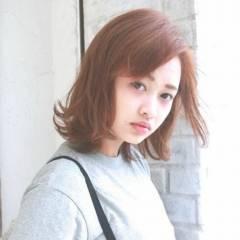 ストリート ナチュラル 外国人風 マルサラ ヘアスタイルや髪型の写真・画像