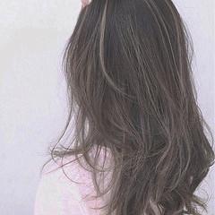 大人かわいい ナチュラル ブラウン グラデーションカラー ヘアスタイルや髪型の写真・画像