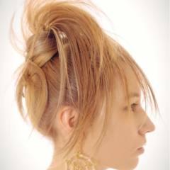 ヘアアレンジ ロング ストリート 外国人風 ヘアスタイルや髪型の写真・画像