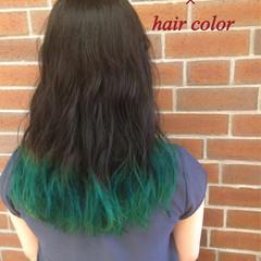 外国人風 グラデーションカラー ストリート ハイライト ヘアスタイルや髪型の写真・画像