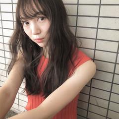 3Dハイライト 外国人風カラー 外国人風 ナチュラル ヘアスタイルや髪型の写真・画像